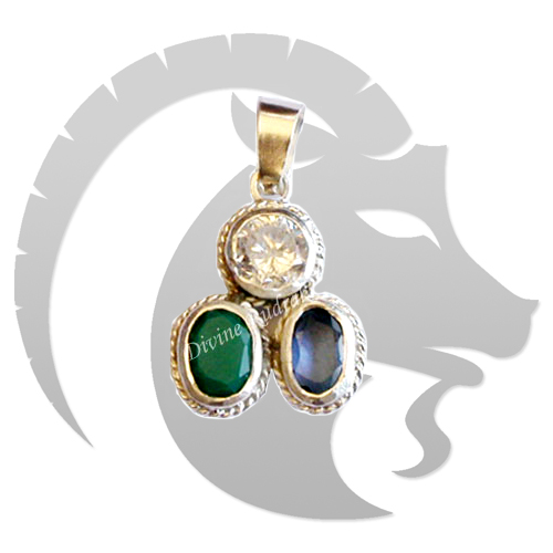 Gems Pendant For Capricorn (Makar)