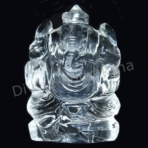 Crystal Ganesha Idol