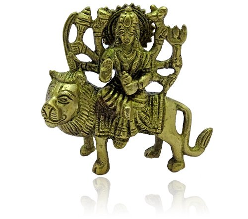 Goddess Durga on Lion II