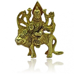 Goddess Durga on Lion III