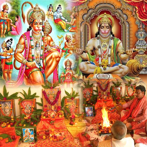 Online Hanuman Jayanti Puja, Virtual Hanuman Jayanti Puja