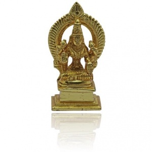 Lakshmi Idol in Golden finish