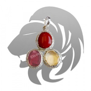 Gems Pendant For Leo (Singh)