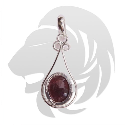 Ruby Pendant for Leo (Singh)