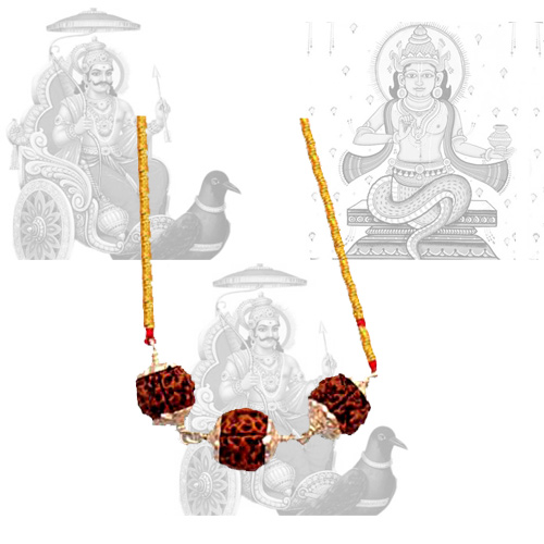 Shani Rahu Shrapit Dosha Pendant