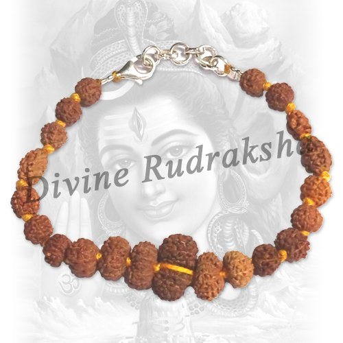 Shiva Shakti Bracelet in thread