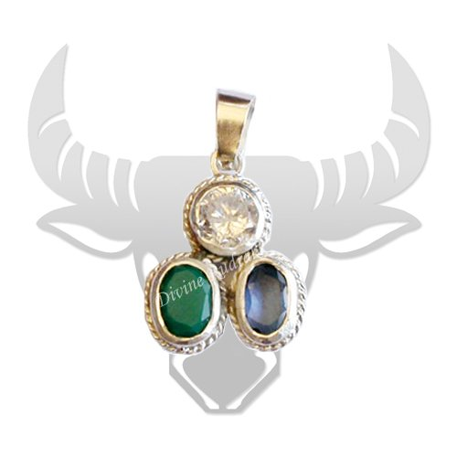 Gems Pendant for Taurus (Vrishabh)
